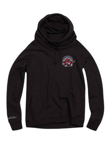 Toronto Raptors Womens Funnel Neck Hoody