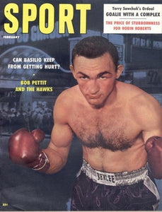 February 1958 Sport Cover (Carmen Basilio, Boxing)