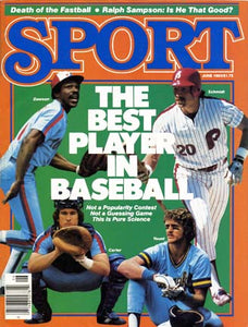 June 1983 Sport Cover (Andre Dawson, Gary Carter, Mike Schmidt and Robin Yount)