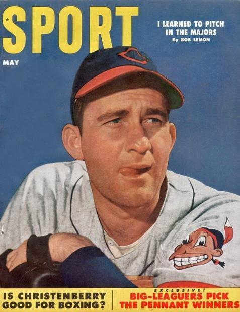 May 1953 Sport Cover (Bob Lemon, Cleveland Indians)