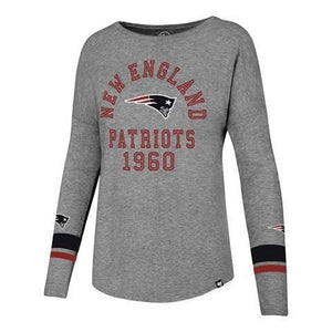 New England Patriots Encore Heather Courtside Tee