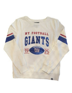 New York Giants Womens NFL Ultra Throwback Crew Sweater