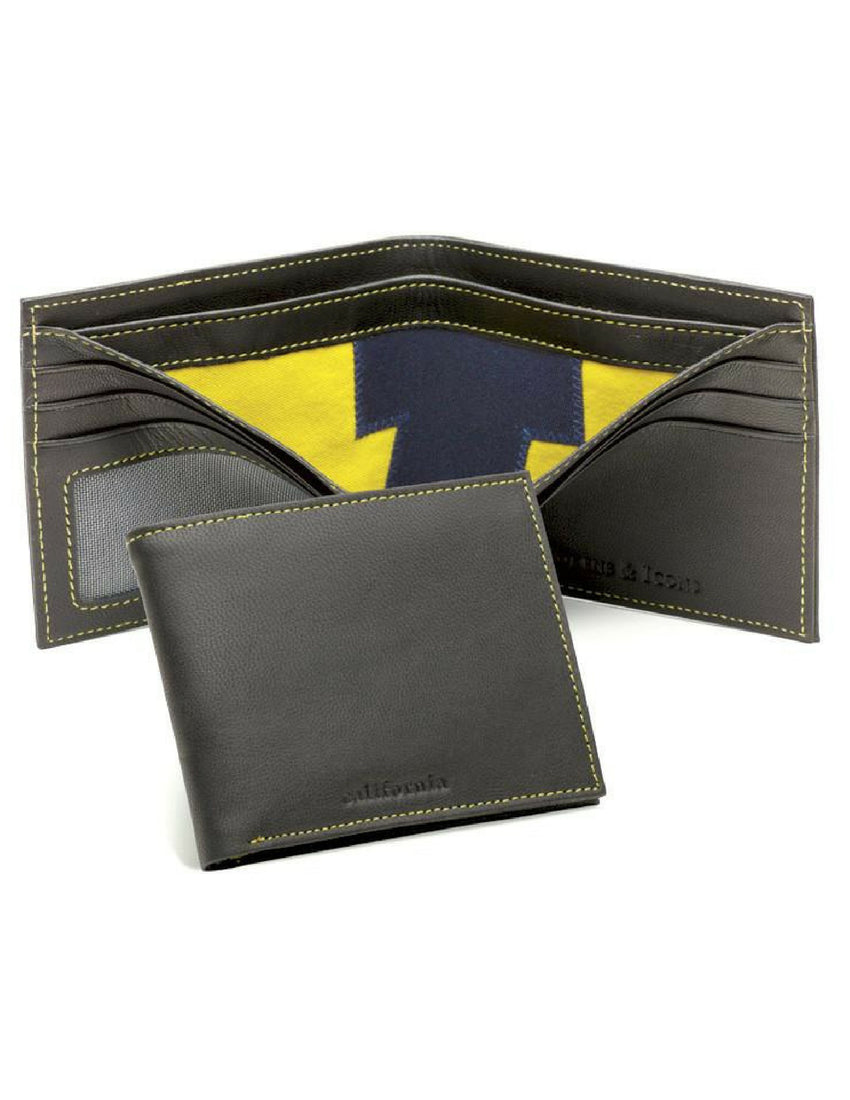 UC Berkeley Game Used Football Uniform Wallet