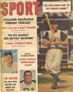May 1961 Sport Cover (Dick Groat, Micky Mantle, Jim Taylor)