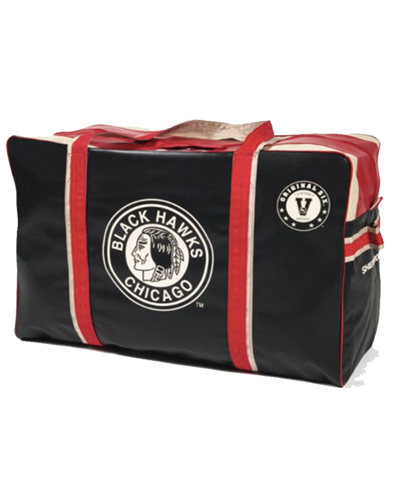 Chicago Blackhawks Vintage Hockey Bag