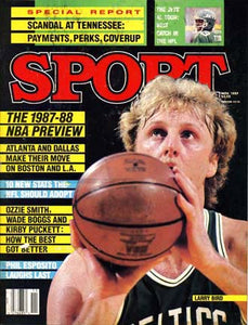 November 1987 Sport Cover (Larry Bird, Boston Celtics)