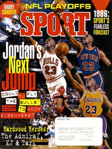 January 1996 Sport Cover (Michael Jordan, Chicago Bulls)