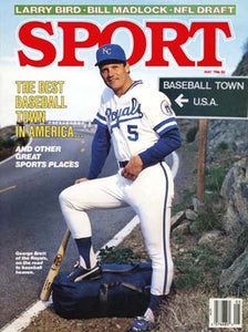 May 1986 Sport Cover (George Brett, Kansas City Royals)