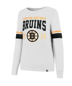 Boston Bruins Womens Ultra Throwback Crew Sweater