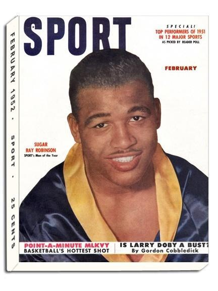February 1952 Sport Cover (Sugar Ray Robinson)