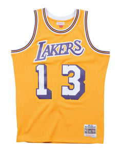 Los Angeles Lakers 1971-72 Wilt Chamberlain Swingman Jersey