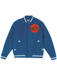 New York Knicks Varsity Jacket
