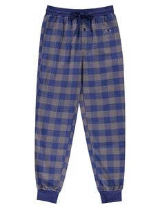 Vancouver Canucks (Blue Plaid) Men's Woven Pyjama Pants