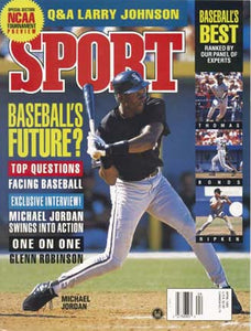 April 1995 Sport Cover (Michael Jordan, Chicago White Sox)