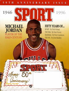 September 1996 Sport Cover (Michael Jordan, Chicago Bulls)