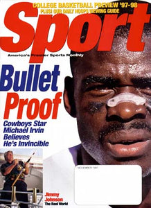 November 1997 Sport Cover (Michael Irvin, Dallas Cowboys)