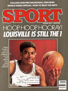 November 1986 Sport Cover (Pervin Ellison, Louisville Cardinals)
