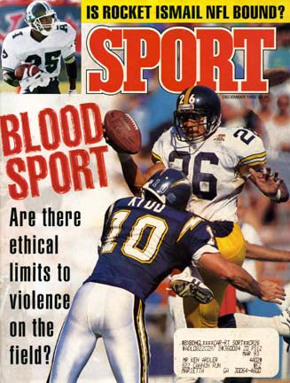 December 1992 Sport Cover (Rod Woodson, Pittsburgh Steelers)