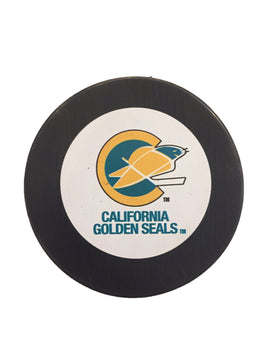California Golden Seals Vintage Hockey Puck