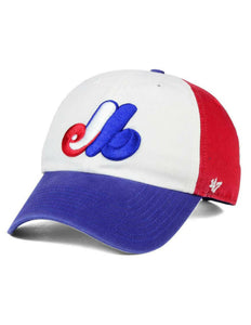 Montreal Expos Alternate MLB Clean Up Cap