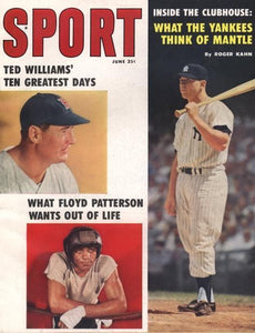 June 1959 Sport Cover (Mickey Mantle, New York Yankees, Ted Williams, Boston Red Sox)