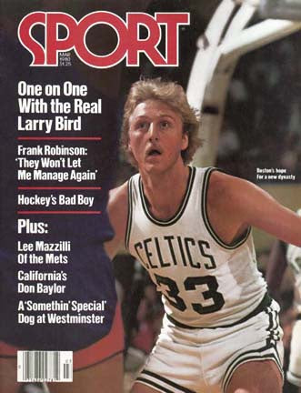 March 1980 Sport Cover (Larry Bird, Boston Celtics)