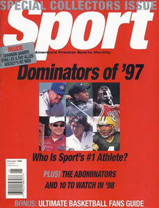 January 1998 Sport Cover (Michael Jordan, Brett Favre and Tiger Woods)
