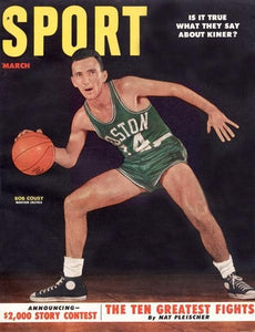 March 1953 Sport Cover (Bob Cousy, Boston Celtics)