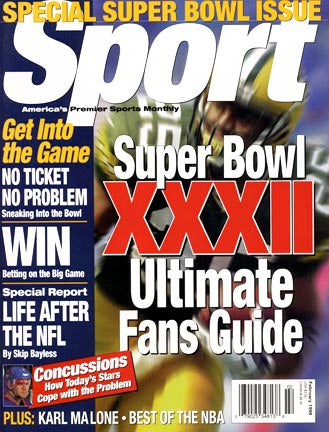 February 1998 Sport Cover (Dorsey Levens, Green Bay Packers)