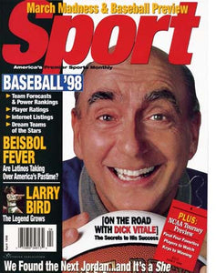 April 1998 Sport Cover (Dick Vitale)