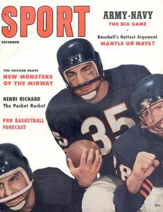 December 1957 Sport Cover (Chicago Bears)