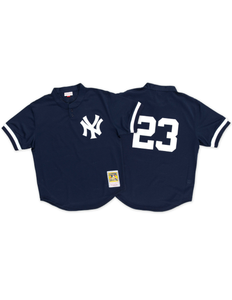 New York Yankees Don Mattingly 1995 Mesh BP Authentic Replica Jersey