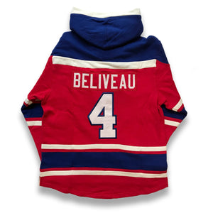 Montreal Canadiens Jean Beliveau Alumni Lacer Hoody