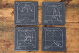Edmonton Oilers Greatest Plays in Sports Coasters