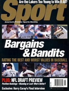 May 1998 Sport Cover (Larry Walker, Colorado Rockies)