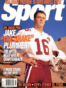 July 1999 Sport Cover (Jake Plummer, Arizona Cardinals)