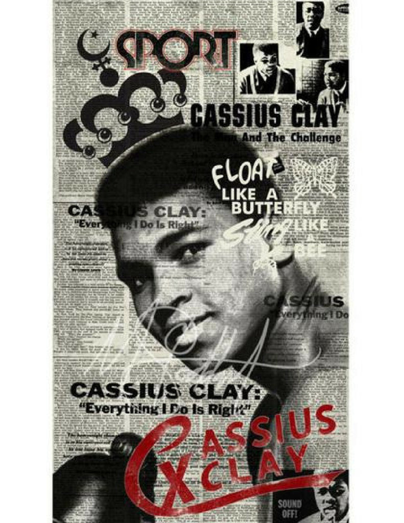 """""""Man From San-Se-Re, 1962"""" (Cassius Clay) by Mark Stoddart"""