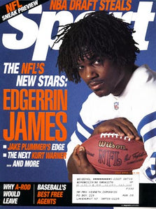 July 2000 Sport Cover (Edgerrin James, Indianapolis Colts)