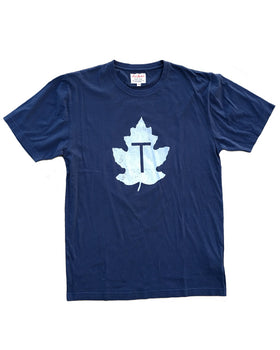 Toronto Maple Leafs 1960s Baseball Team Brass Tacks Tee