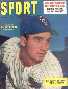 October 1957 Sport Cover (Billy Pierce, Chicago White Sox)
