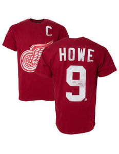 Detroit Red Wings Gordie Howe NHL Alumni Player Tee