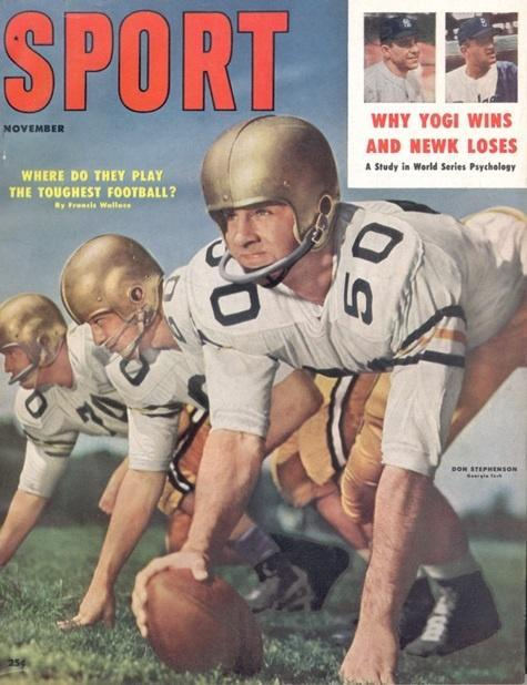 November 1957 Sport Cover (Don Stephenson, Georgia Tech)