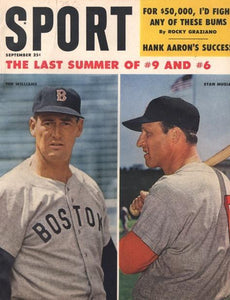September 1959 Sport Cover (Ted Williams, Boston Red Sox, Stan Musial, St. Louis Cardinals)