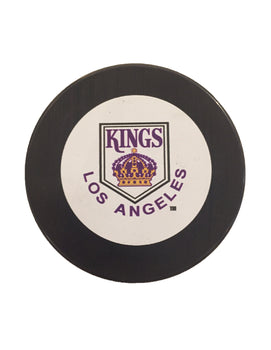 Los Angeles Kings Vintage Hockey Puck