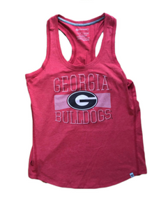 Georgia Bulldogs Womens Tank Top