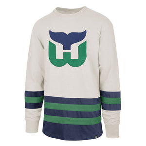 Hartford Whalers Center Ice Vintage-Inspired Jersey
