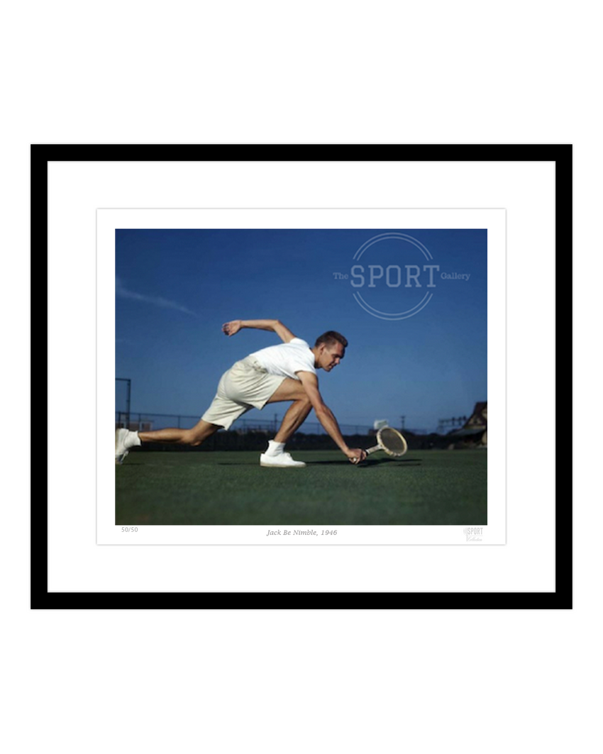 Jack Be Nimble 1946 Jack Kramer – The Sport Gallery