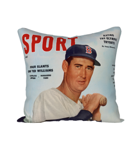 July 1956 SPORT Magazine Pillow Case