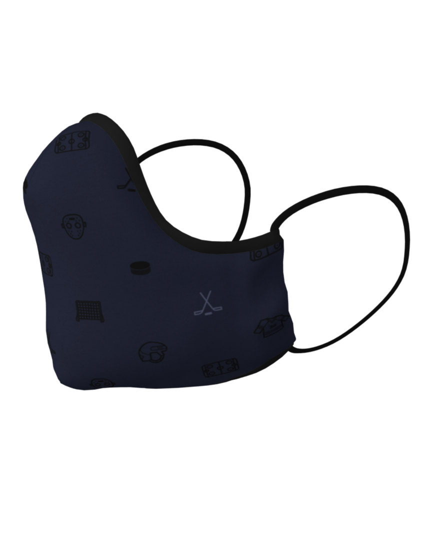 Hockey Face Mask with Filter Pocket