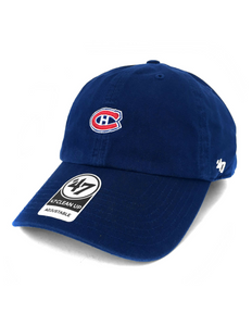 Montreal Canadiens Base Runner Clean Up Cap